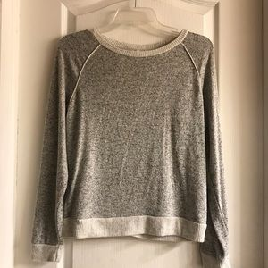 Light Soft charcoal sweater (new)
